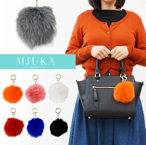 2017 A/W Real Rabbit fur Bag Charm
