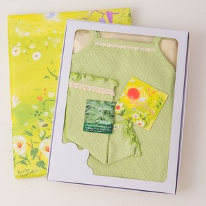 Camisole Body & Leg Warmers Box Set【organic cotton 100%】