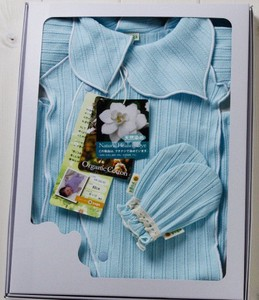 Long Sleeve Sprite Baby Romper & Mitten Box Set【organic cotton 100%】
