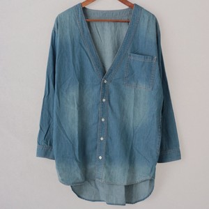 2018 S/S Denim Shirt Cardigan