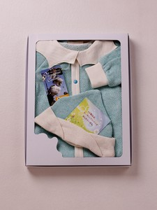 Pierrot Convertible Romper & Pigmy Hat Box Set【organic cotton 100%】