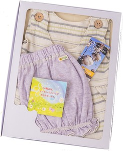 Lightweight Dress & Bloomer Box Set【organic cotton 100%】