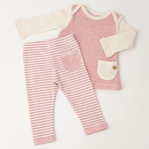 Combination Tunic & Stripe Leggings Box Set【organic cotton 100%】