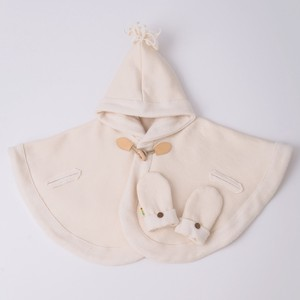 Duffle Cape & Warm Mitten  Box Set【organic cotton 100%】