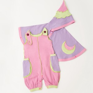 Moon Fairy Poncho & Balloon Dungarees Box Set【organic cotton 100%】