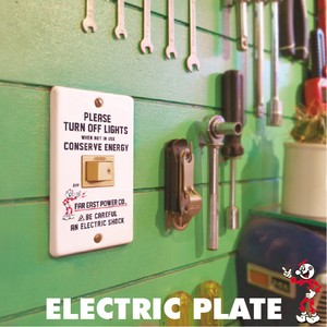 ELECTRIC PLATE(コンセントカバー)