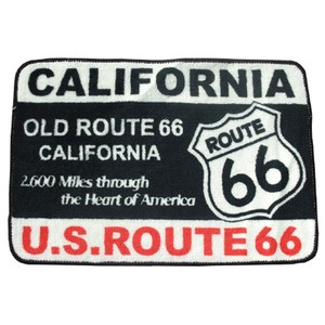 AMERICAN FLOOR MAT【ROUTE66】(フロアマット)