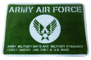 AMERICAN FLOOR MAT【ARMY AIR FORCE】(フロアマット)
