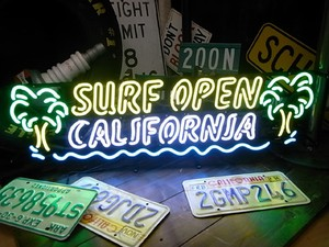 ネオンサイン【SURF OPEN -CALIFORNIA-】
