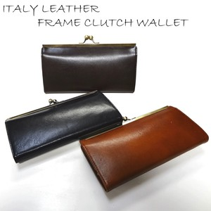 Italy Leather Coin Purse Long Wallet