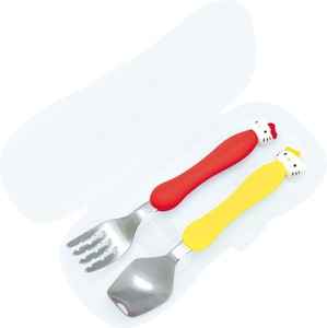 Hello Kitty Fork Spoon Attached Case Edison