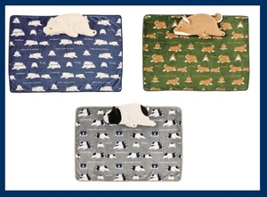 Nemunemu Animals Warm Blanket Cushion