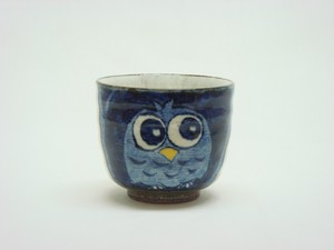 HASAMI Ware Owl Japanese Tea Cup
