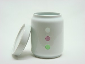HASAMI Ware Drop Marble Canister