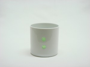 HASAMI Ware Drop Marble Cup Green