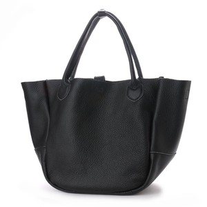 Cow Leather Push Tote Bag