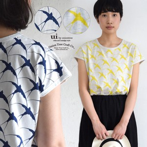 S/S Print T-shirt Swallow