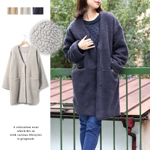 2017 A/W Non-colored Long Coat mitis