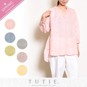Series Linen Dyeing Blouse