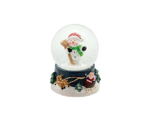 Christmas Snow Dome Snowman