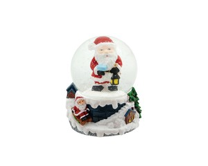 Christmas Snow Dome Holy Santa
