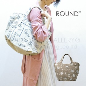 Tote Bag Round Embroidery