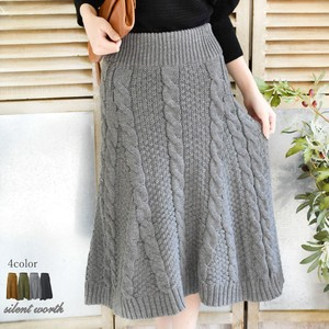 2017 A/W Cable Flare Skirt