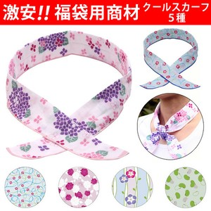 Period Scarf 5 Types Lucky Bag