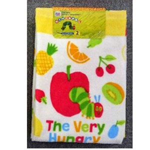 Hungry Bug, Flower & Plant Book Face Towel 2 Pcs Admission Baby