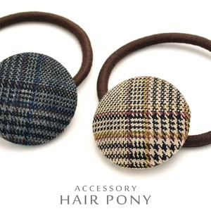 Checkered Hair Elastic Adult Accent Just