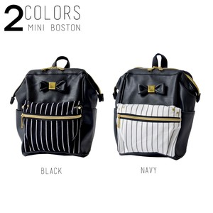 Base Synthetic Leather Ribbon Backpack