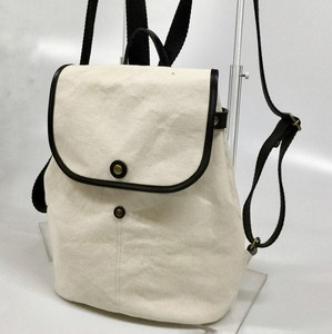 2018 S/S Leather Bag Swing Canvas Backpack