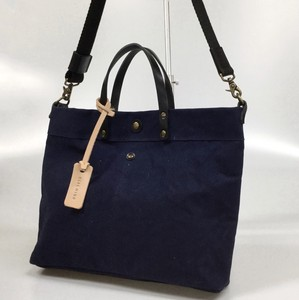 Canvas Spain Leather Shoulder Tote