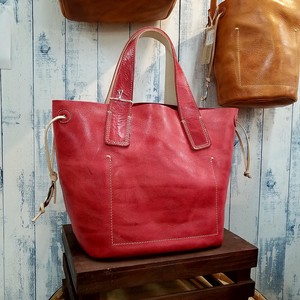 2018 S/S Leather Bag Double Tote