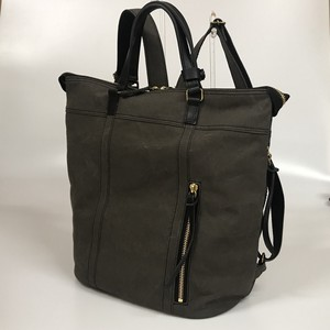 Leather Bag Backpack Canvas