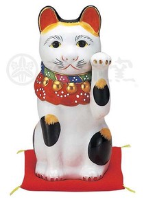 Happiness Ornament Interior Beckoning cat Size 7