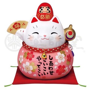 Happiness Ornament Interior Certain Victory Daruma Beckoning cat Piggy Bank