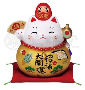 Happiness Ornament Interior Certain Victory Daruma Beckoning cat
