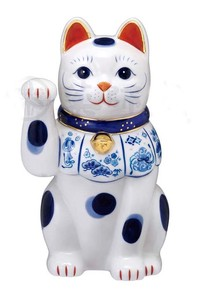 Happiness Ornament Interior Somenishiki Beckoning cat Right Hand Size 8