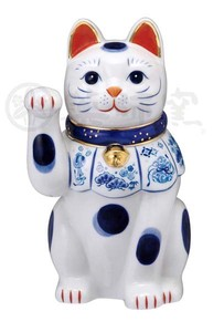 Happiness Ornament Interior Somenishiki Beckoning cat Right Hand Size 7