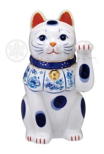 Happiness Ornament Interior Somenishiki Beckoning cat The Left Hand Size 7