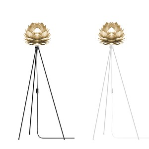 VITA Silvia mini Brushed Brass (Tripod Floor)