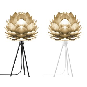 VITA Silvia mini Brushed Brass (Tripod Table)
