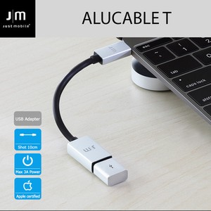 【Type-C USB 変換アダプター】AluCable USB-C 3.1 to USB Adapter 高速充電 データ転送対応