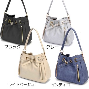 Synthetic Leather Shoulder Bag