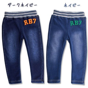 2017 A/W Baby Denim Knitted Pants