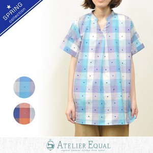 Dobby Colorful Checkered Tunic