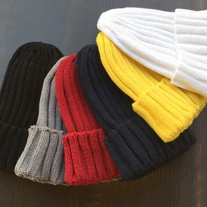 Hour Color Knitted Hat All