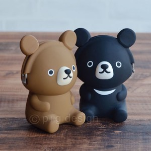 3D POCHI Friends BEAR<ミニポーチ>クマ