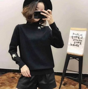 2017 A/W Ladies Star Knitted Pullover